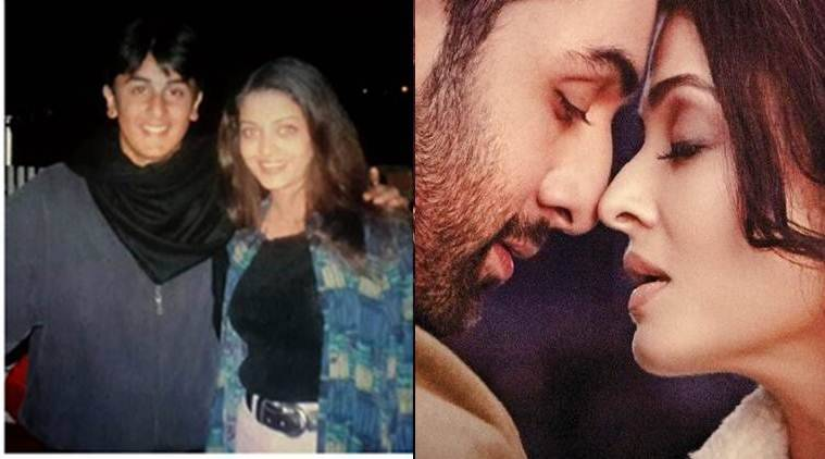 Image result for young ranbir and aish