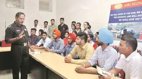Chandigarh government college, Chandigarh government college job fair, Chandigarh government college jobs, job fair, chandigarh job fest, chandigarh news, India news