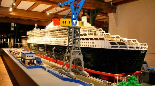 World's largest LEGO ship sets Guinness record | The ...