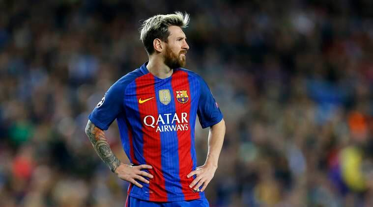 Image result for messi vs manchester city 2016
