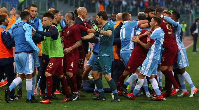 Image result for Roma/Lazio