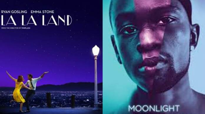 Image result for La La Land and moonlight