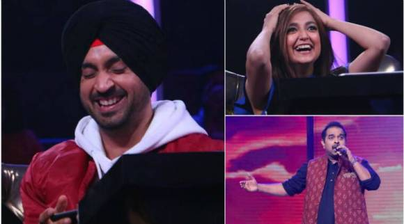 diljit dosanjh, monali thakur, shankar mahadevan, rising stars, rising stars judges, diljit dosanjh songs, monali thakur songs, shankar mahadevan songs, udta punjabi, colors channel, rising star episodes, indian express, indian express news, entertainment news