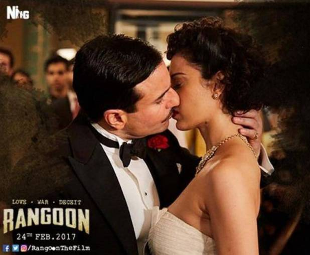 rangoon review, Rangoon movie review, Rangoon, Kangana Ranaut, Saif Ali Khan, rangoon movie