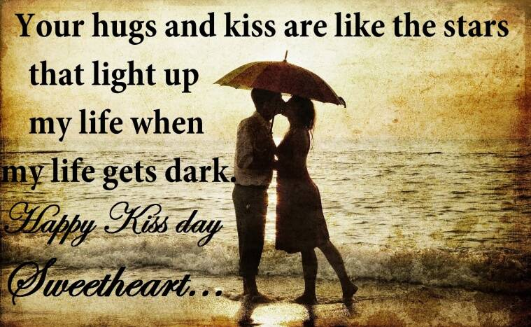 Happy Kiss Day 2017 Wishes: Best Quotes, SMS and WhatsApp Messages to send Your Dear Ones! | Lifestyle News,The Indian Express