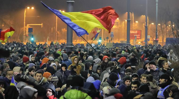 Image result for romanian protests