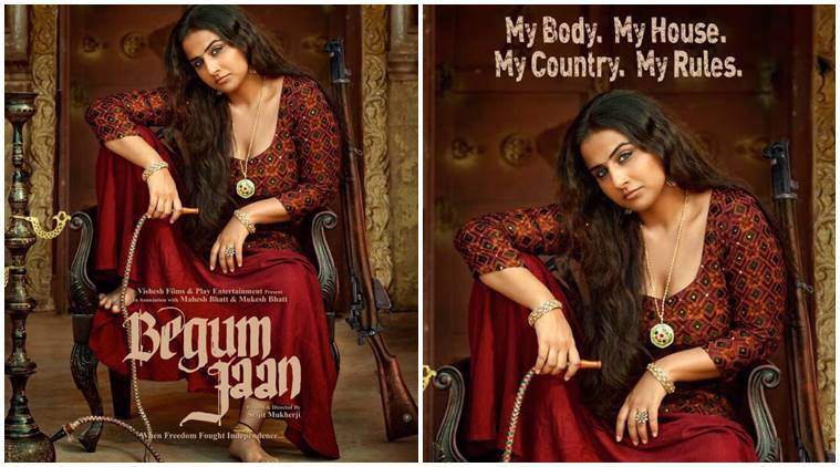 Poster do filme Begum Jaan
