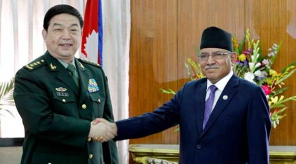 Chinese Defence Minister meets Nepal PM Prachanda | The ...