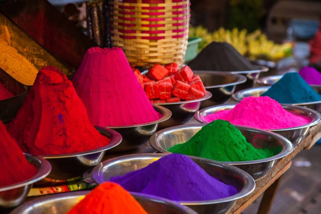 Image result for herbal holi colours