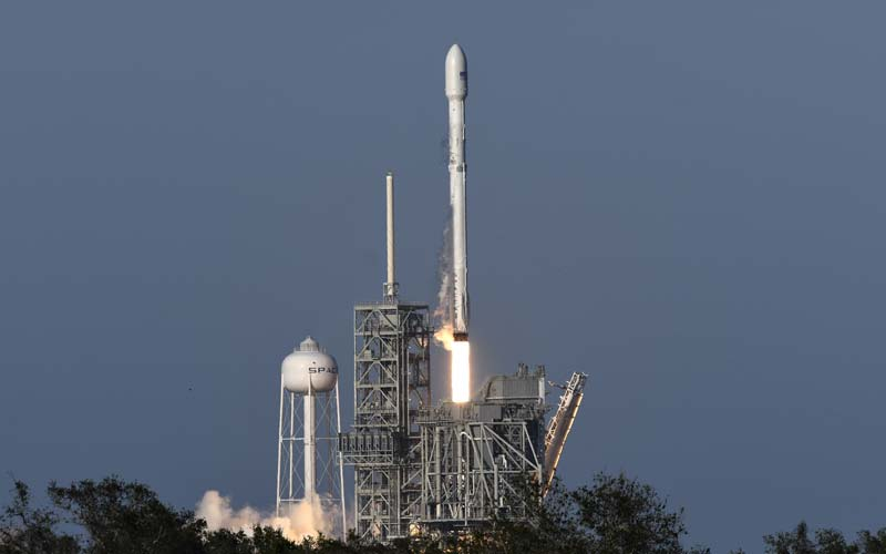 Image result for SpaceX successfully launched and then retrieved its first recycled rocket