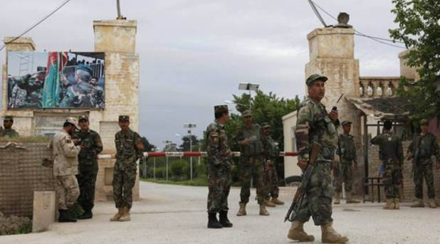 Afghanistan attack, afghanistan army headquarters attack, mazar-i-sharif, afghanistan battle, afghanistan army, afghanistan news, world news, indian express