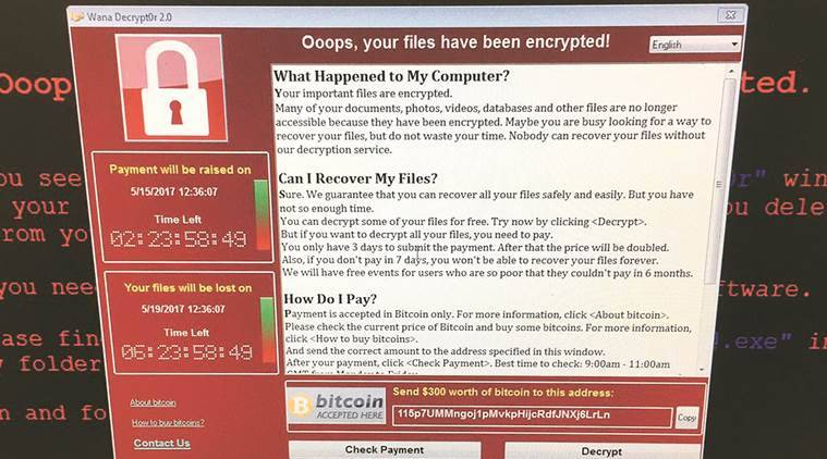 Image result for wannacry ransomware attack