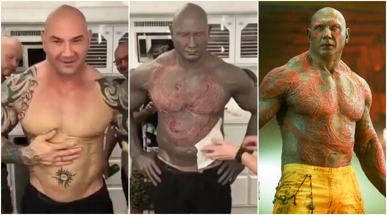 Image result for guardians of the galaxy makeup