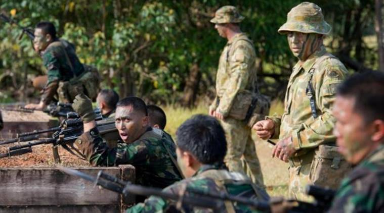 Four Indonesian soldiers killed, eight injured in a ...