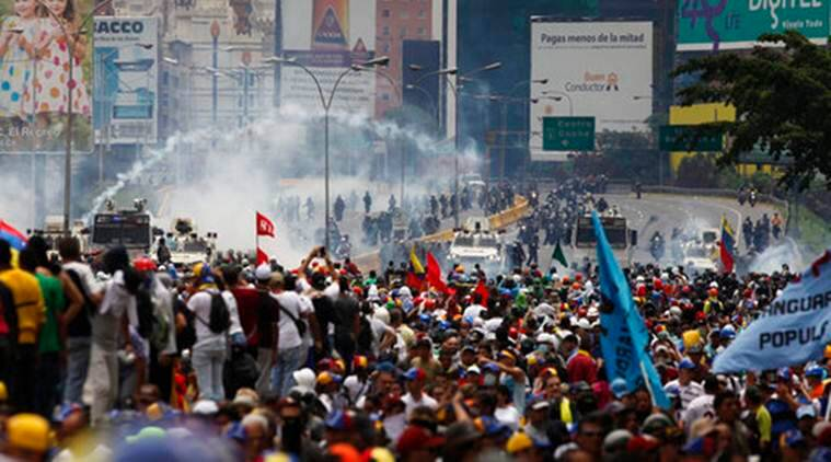 Nicolas Maduro Venezuela Tareck El Aissami Venezuela political crisis constitution constitutional assembly,US US intervention in Venezuela Russia,Donald Trump Trump administration Trump decisions protests demonstrations protests in Venezuela