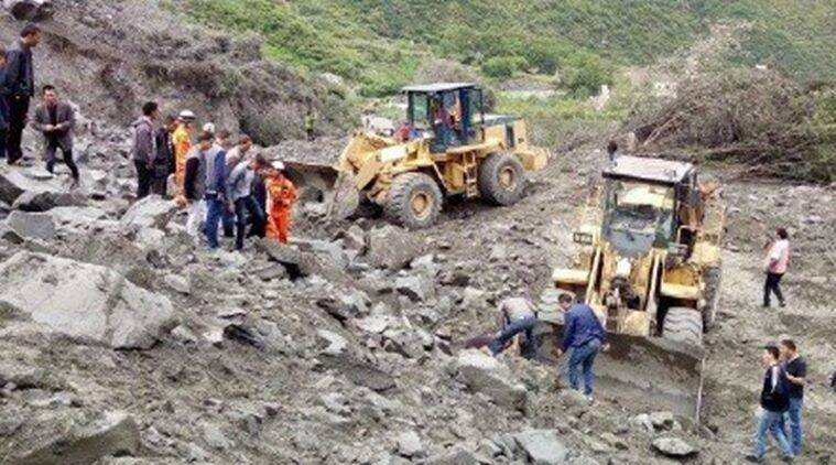 Image result for China landslide