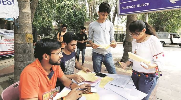 delhi university, DU, delhi university cut offs, delhi university courses, delhi university admissions, delhi university admission, india news, delhi news, education news
