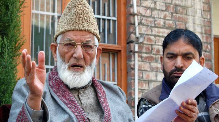 Image result for Indian NIA Summons Syed Ali Gilani's Son for Questioning
