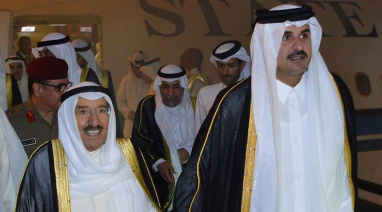 Image result for Qatar leaders meet to resolve crisis, photos