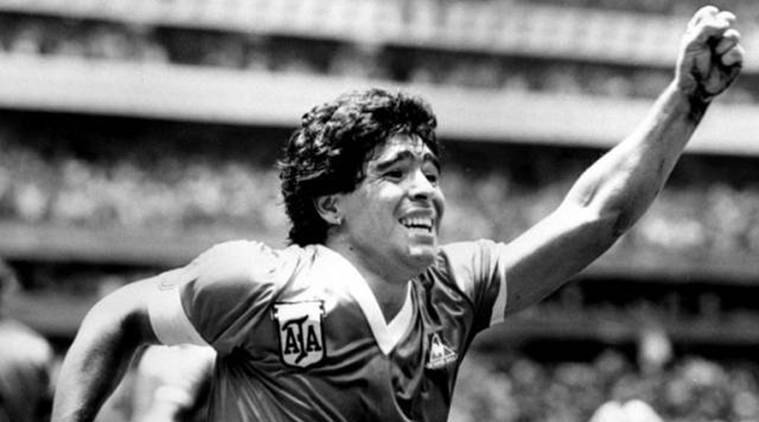 diego maradona, maradona, hand of god goal, video assistant referees, var, goalline technology, football technology, football news, sports news, indian express