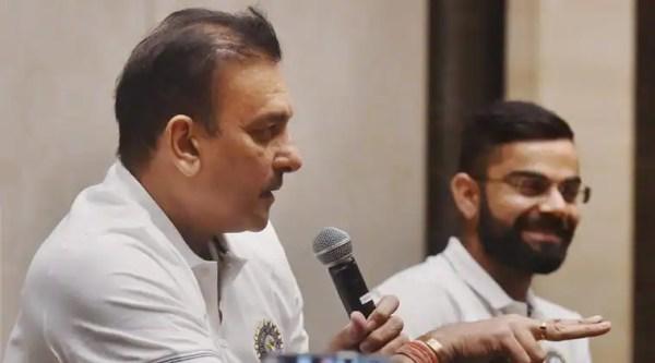 Ravi Shastri 'unites again' with Team India; see pics ...