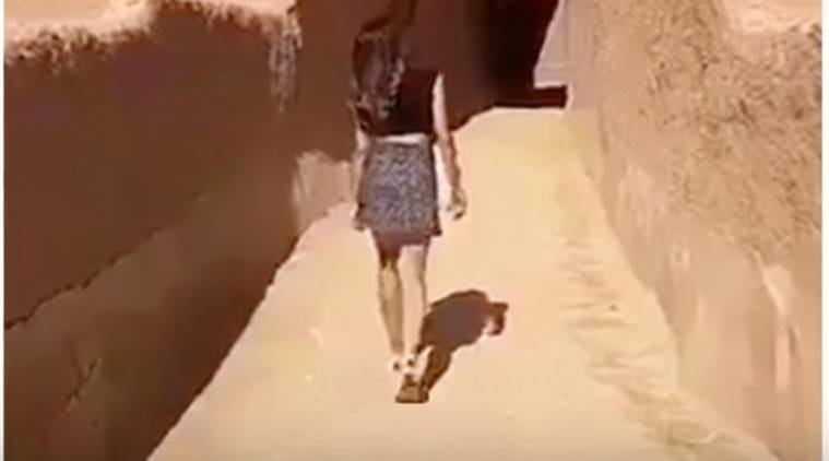 Saudi Girls Online Post In Miniskirt Draws Conservative