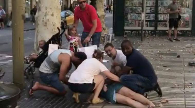 Image result for Barcelona attack pictures