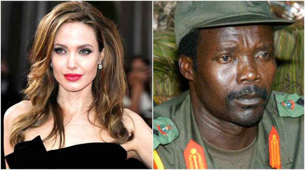 Image result for Angelina Jolie offered to help capture warlord Joseph Kony