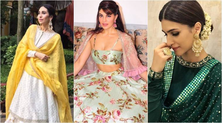 Karisma Kapoor to Kriti Sanon: Our 10 favourite ethnic-wear celeb looks from Navratri and Durga Puja 2017
