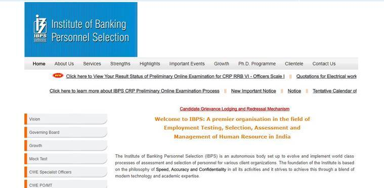 IBPS RRB 2017 results declared at ibps.in, check result online