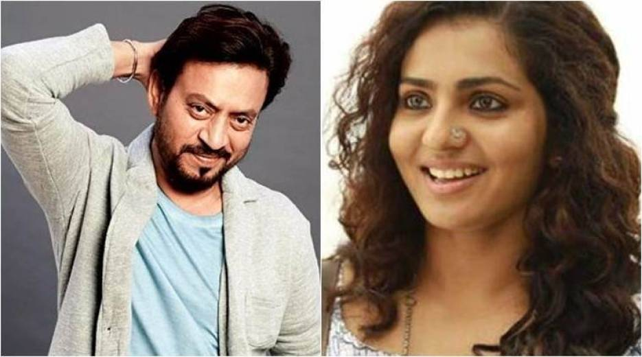 Image result for Irrfan Khan to star with Malayalam actor Parvathy in his next Qarib Qarib Single