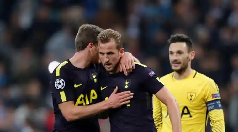 Natiijada sawirka Tottenham Hotspur vs Real Madrid