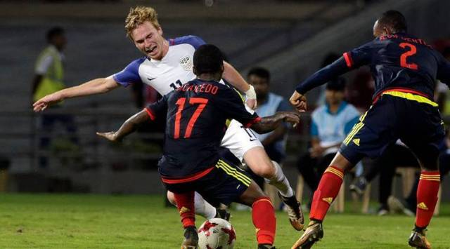 Image result for usa vs columbia in india