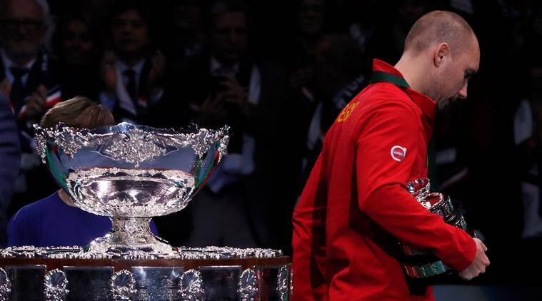 Davis Cup: Steve Darcis scolds himself for being 'appalling' in Belgian loss