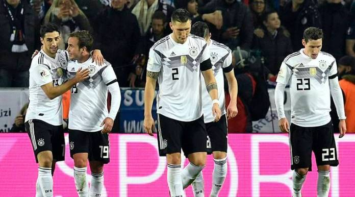 mario gotze scored the first goal for Germany