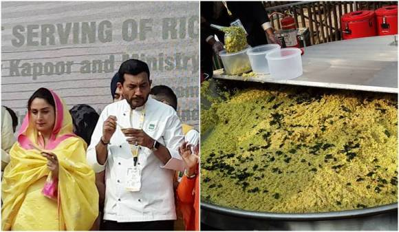 918kg Brand India 'khichdi' enters Guinness World Records