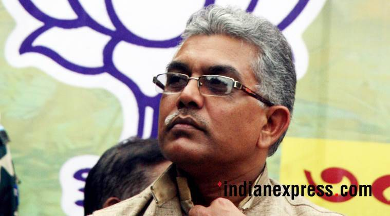 West Bengal BJP chief Dilip Ghosh. (Express file photo)