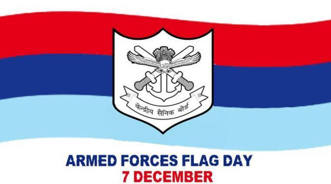 Armed Forces Flag Day Whatsapp Wishes