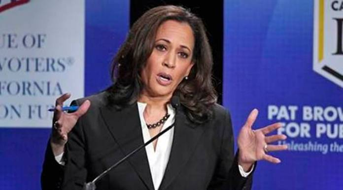 Speak truth, raise voice against bigotry, hatred: Kamala Harris to Indian-Americans