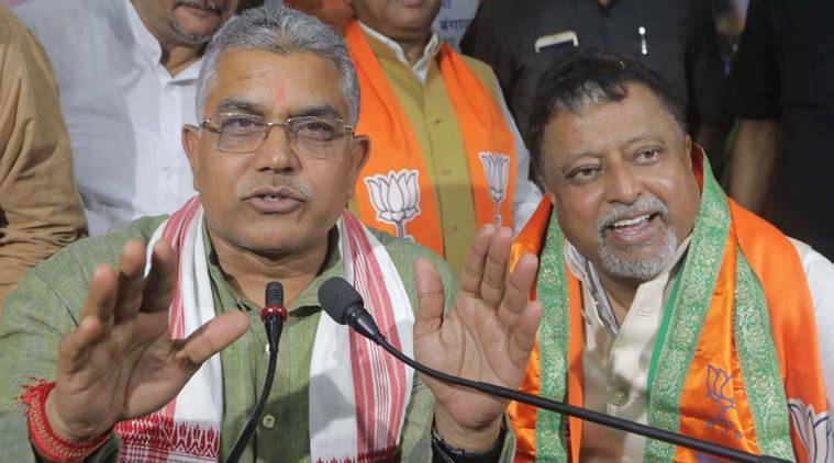 Mukul Roy and Dilip Ghosh