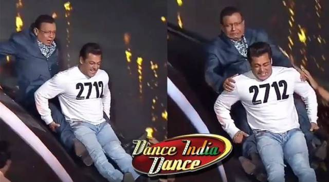 Salman Khan and Mithun Chakraborty gave a laughter dose on the stage of Dance India Dance, watch video