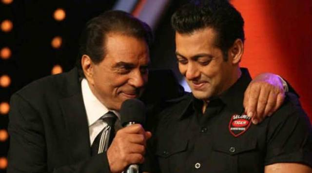 Dharmendra touched by Salman Khans visit to his farm; calls him his son