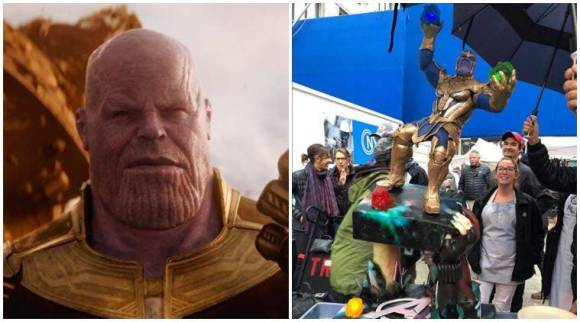 Marvel's Avengers 4 wrap-up celebrated with a Thanos cake