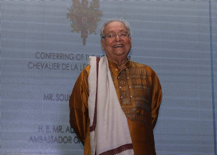 French honour for Soumitra Chatterjee