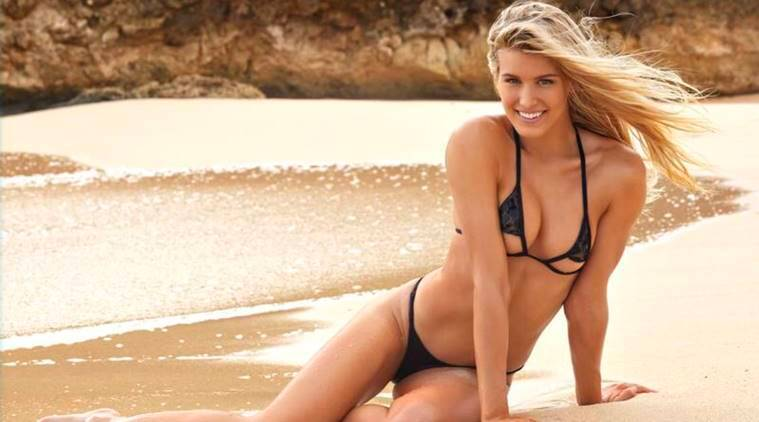 Eugenie Bouchard in Sports Illustrated Swimsuit Issue for second consecutiveyear