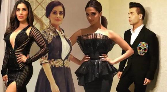 Deepika Padukone, Karan Johar, Dia Mirza, Sophie Choudry: Bollywood celebs in all their finery at magazinerelaunch