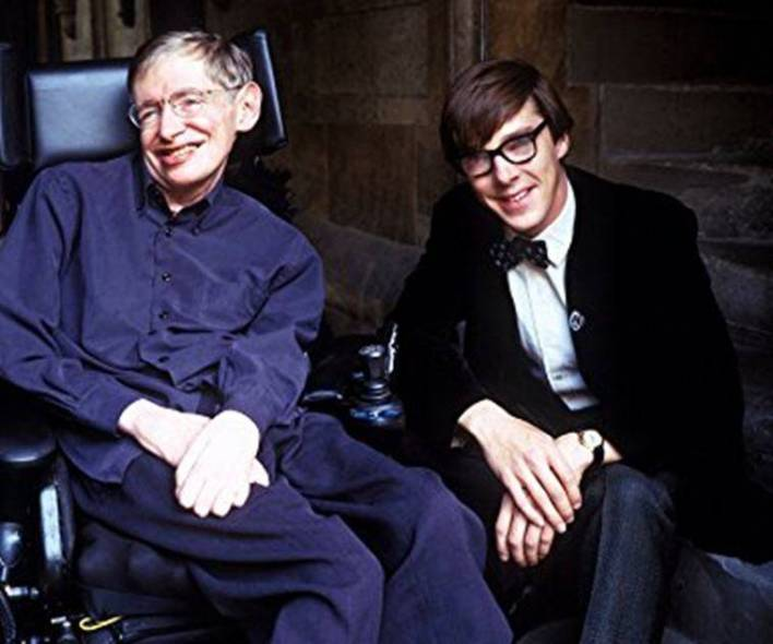 stephen hawking played by benedict cumberbatch