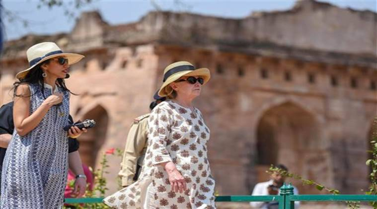 Hillary Clinton in India: Former First Lady of US gets a glimse of 'Hindustan Ka Dil' during three-day visit