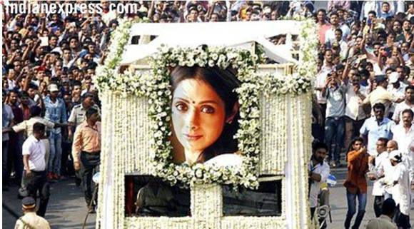 State funeral for Sridevi ordered by Maharashtra CM: RTIreply
