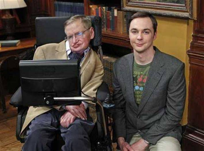 stephen hawking in the big bang theory